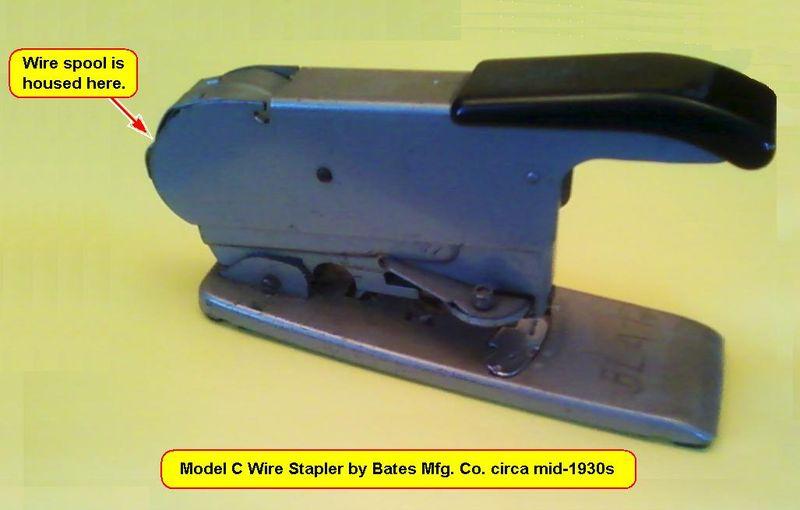 Bates Stapler 1