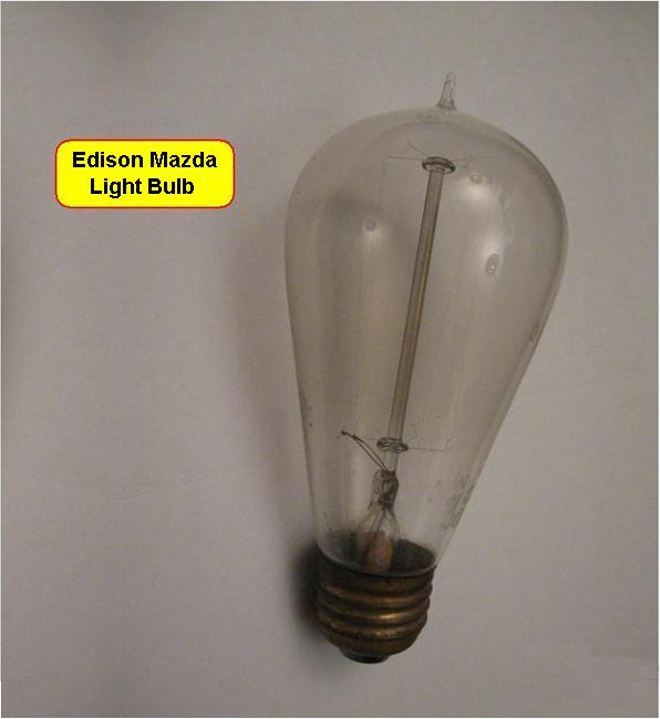 Light Bulb 1 - Edison Mazda