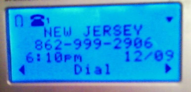 Scam Call 1