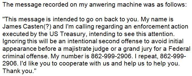 Scam Call 2