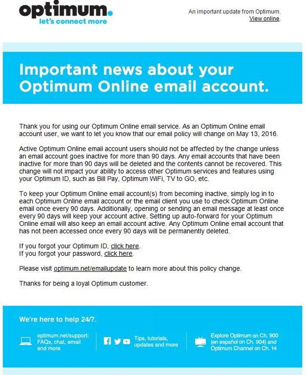 Optimum Online Account Time Limit - John Dunn, Consultant, Ambertec