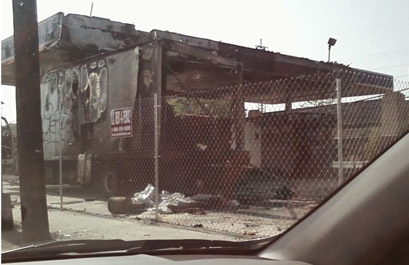 Gas Station Fire 1