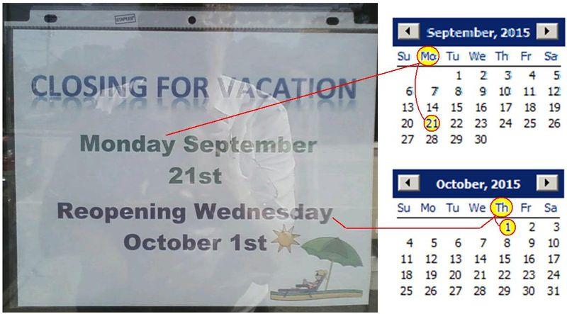 Calendar Booboo