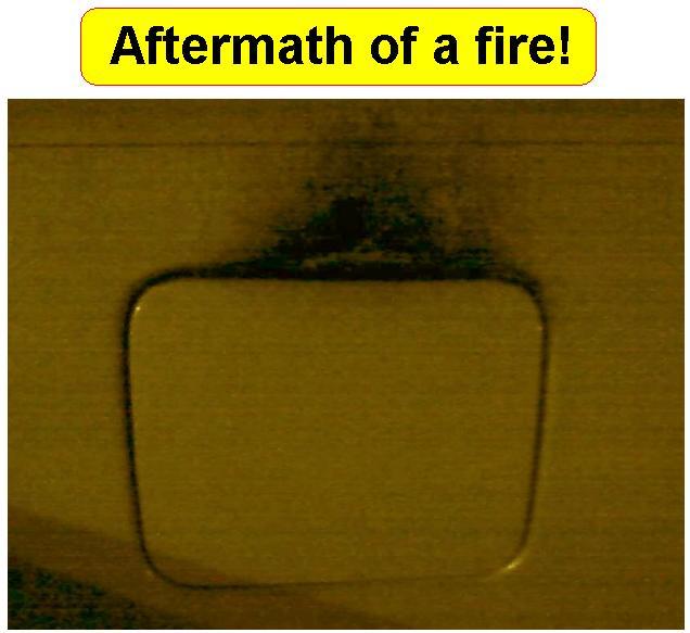 Gas Cap Fire