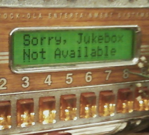 Jukebox Not Available