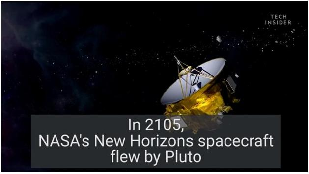 Noticing Pluto Flyby 2105