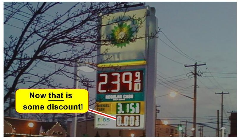 Gas Discount