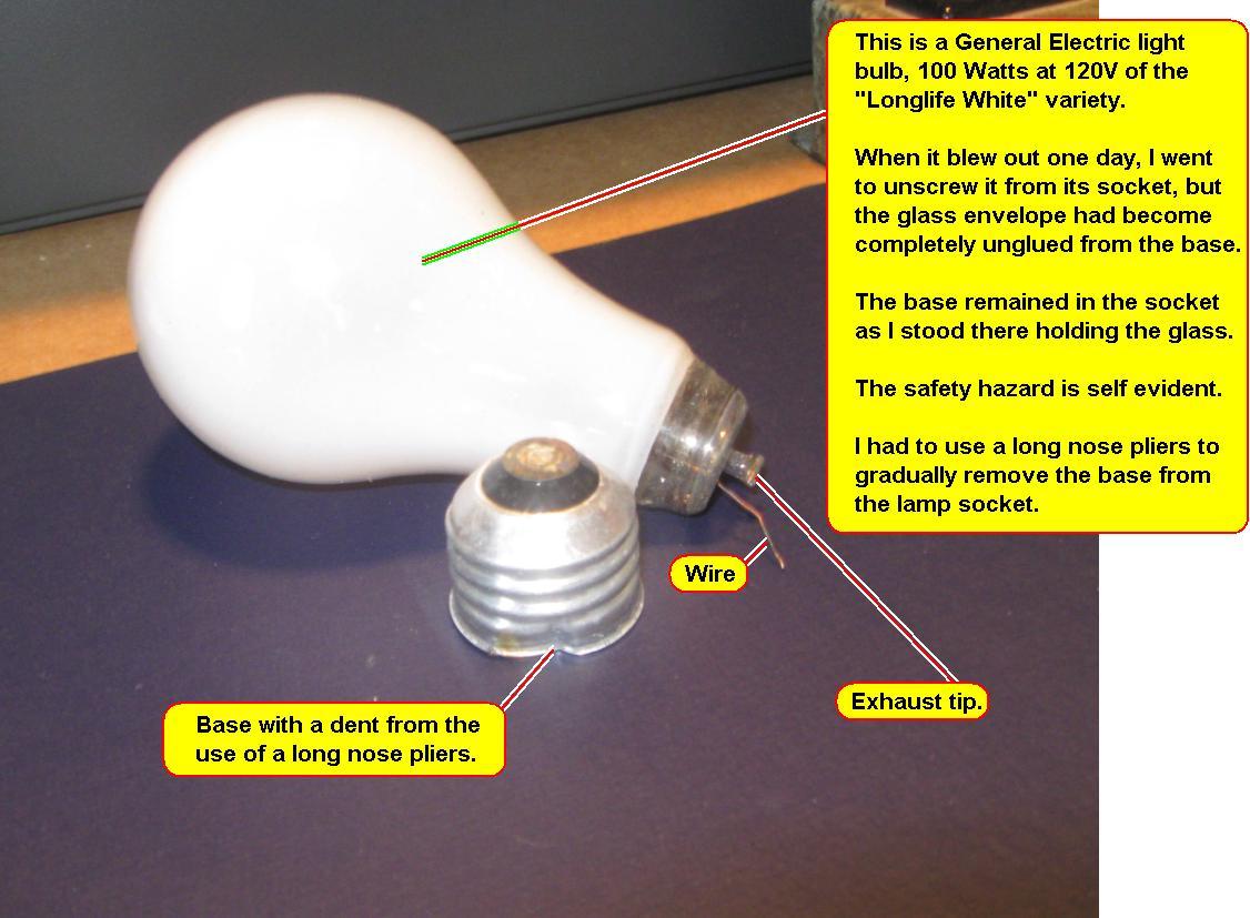 Another Light Bulb Issue - John Dunn, Consultant, Ambertec