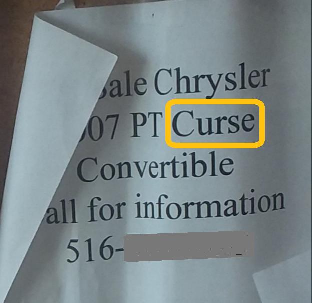 PT Curse