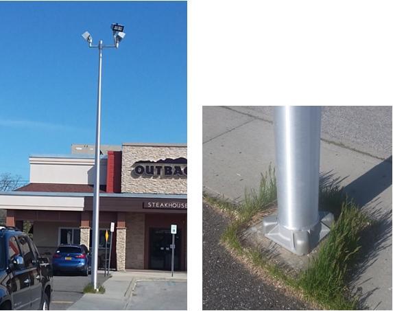 Collapsed Light Pole 3 4-26-21