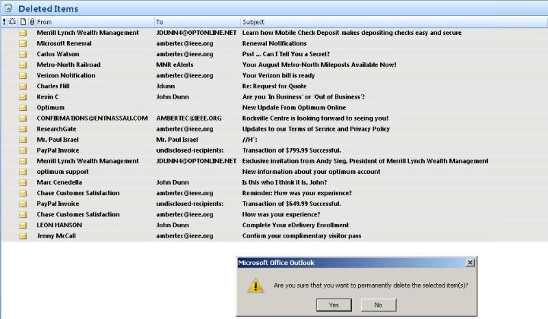 Safe Outlook Deletions 8