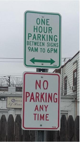 Parking Ad Absurdum