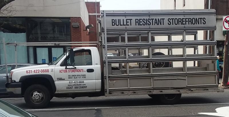 Bullet Resistant Storefronts
